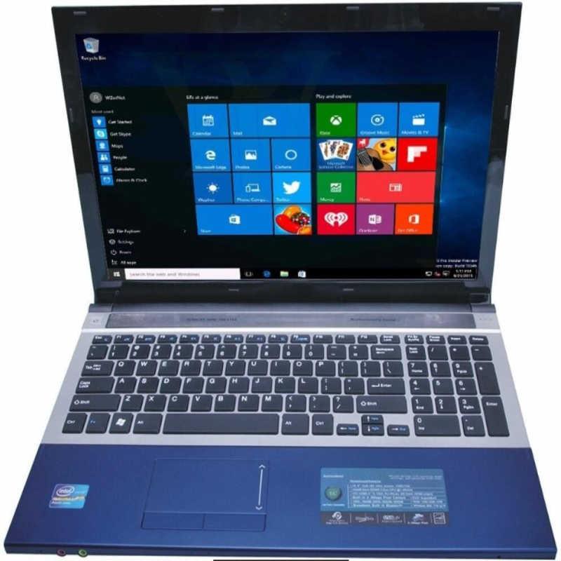 "8 GB RAM + 240 GB SSD 15.6 ""Intel Core i7 מחשב נייד Windows10/7 DVD גדול Ultrabook מהיר מעבד Intel 4 Core AZERTY רוסית ספרד מקלדת"