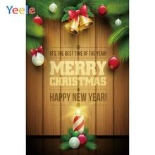 Yeele Christmas Party Photocall Candlelight Wood Photography Backdrops Personalized Photographic Backgrounds For Photo Studio