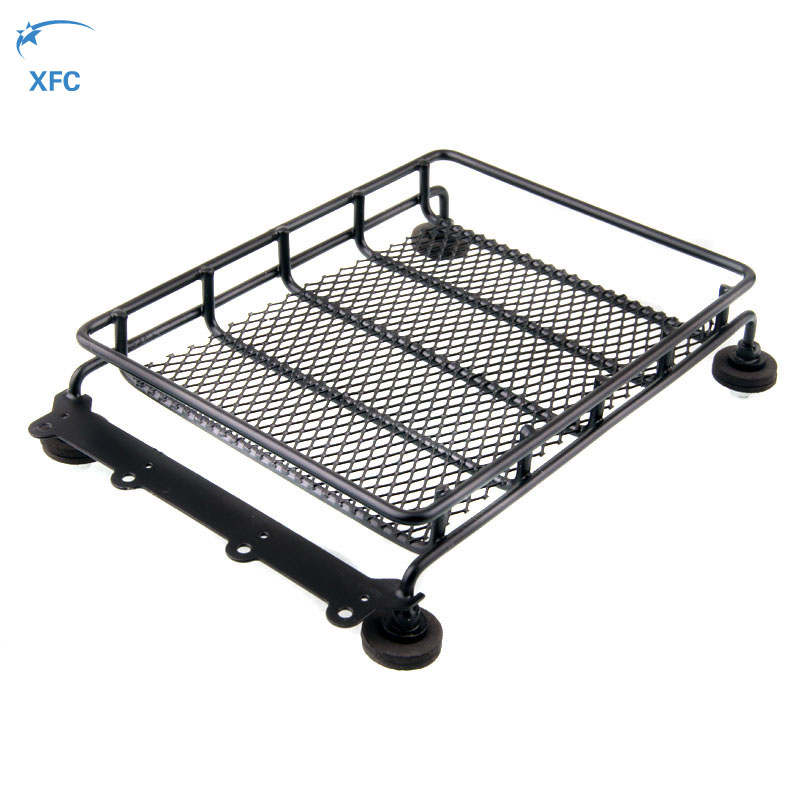 Universal Metal Roof Luggage Rack For 1/10 RC Car Crawler Car Wrangler JEEP CC01 Tamiya Axial SCX10 RC4WD D90 D110 Traxxas Trx4 free shipping 4pcs lot 1 9 inch wheels tire tyre for rc car model crawler tamiya cc01 f350 rc 4wd axial scx10t etc
