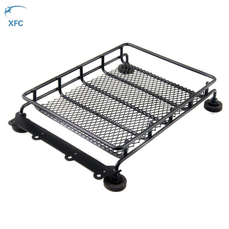 Universal de techo de Metal de equipaje para 1/10 coche RC Crawler coche Wrangler JEEP CC01 Tamiya Axial SCX10 RC4WD D90 D110 Traxxas Trx4