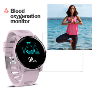 Image 4 - Torntisc S08 Smart Watch IP68 Waterproof Heart Rate Monitor Fitness Tracker Sport Smartwatch Men Women For Android IOS Phone
