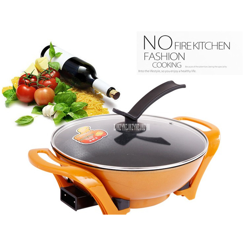 AL-605 Multi - functional cooking pot electric cooker pot double tube heating electric cooker noodles automatic temperature 5L