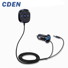 CDEN Hands-free car kit music player 2.1V car cigarette lighter USB mobile phone Bluetooth universal car charger Nuevo Bluetooth
