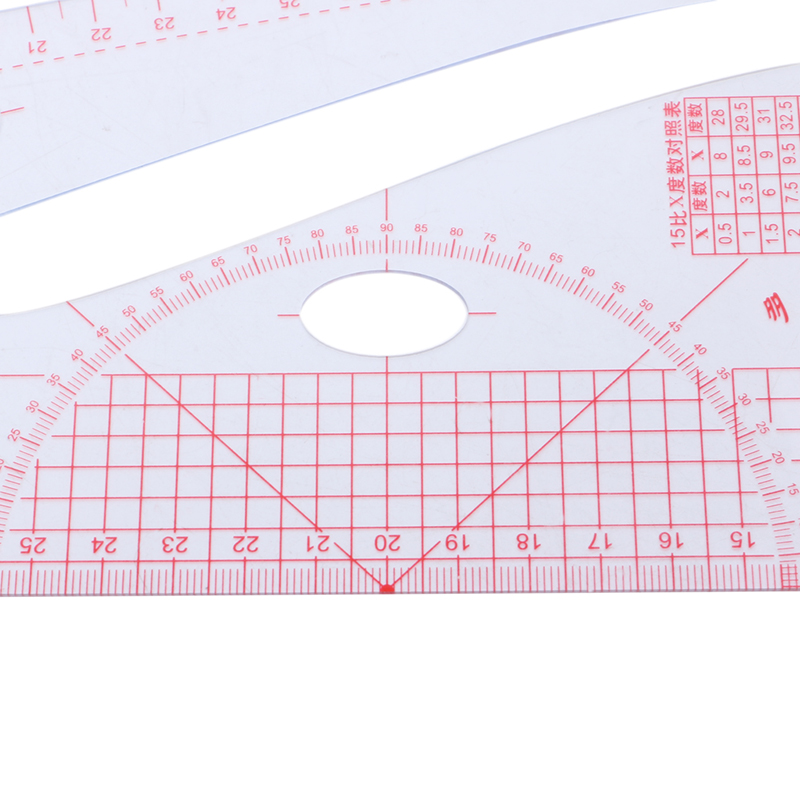 2020 New Multi-function Sewing Ruler Measure For Making Clothes Tailor Craft Tool Plastic