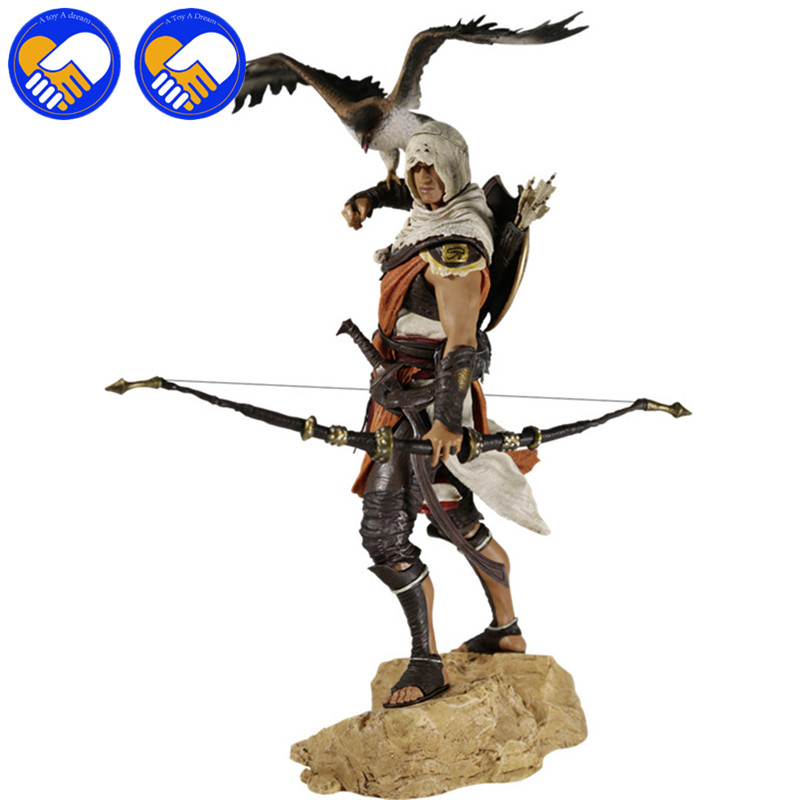 New Arrival Origins Bayek with Falcon PVC Figure 10 Best Collection Toys New Arrival Origins Bayek with Falcon PVC Figure 10 Best Collection Toys