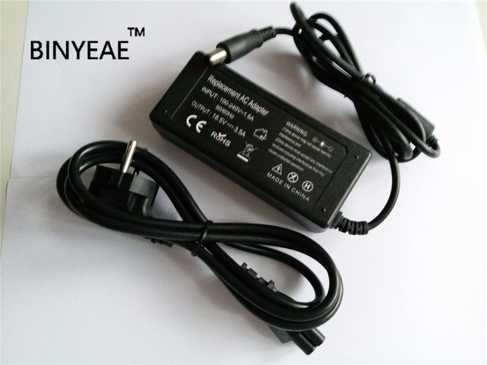 18.5V 3.5A 65w AC Power Cord Adapter Battery Charger for HP EliteBook 810 820 840 850 G1