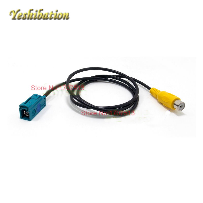 RCA-Original Connector For MB Mercedes Benz C Class W204 2007~2014 Car Video Input RCA Adapter Wire Cable
