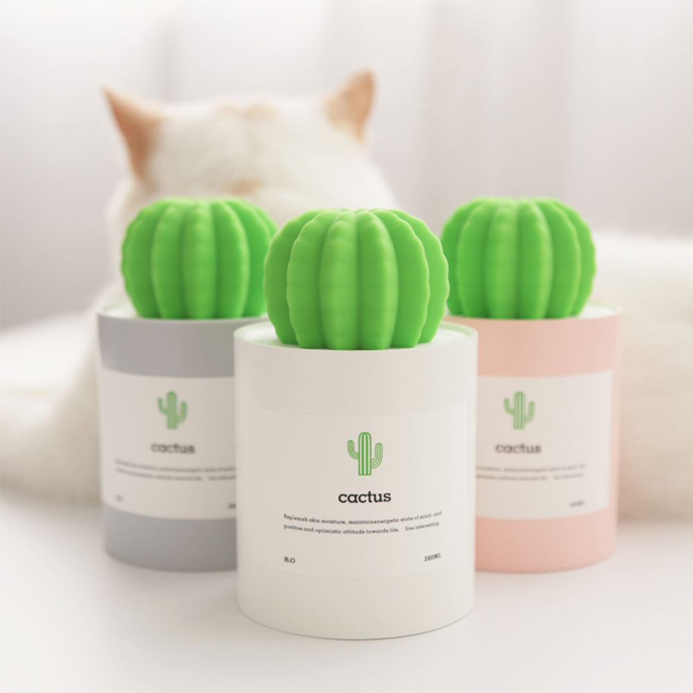 Cactus Ultrasonic Humidifier 280ML