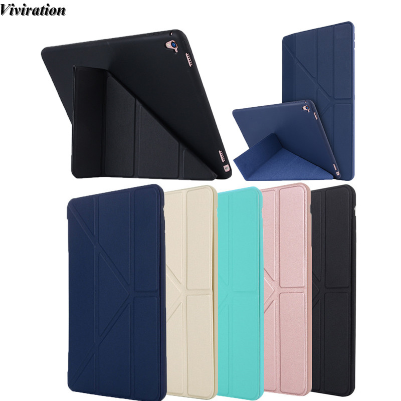 Viviration Tablet Case For Apple iPad Pro 9.7 Inch Tablet PC Fashionable TPU Shockproof Tablet Accessories Soft Tablet PC Cover
