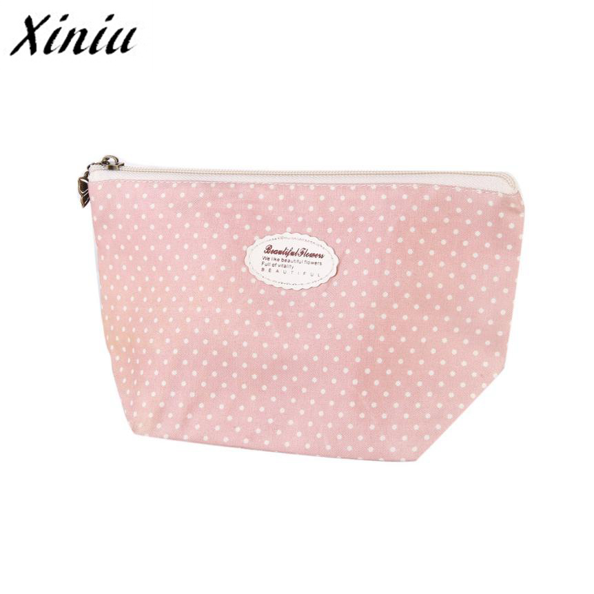 Xiniu Portable Travel Cosmetic Bag Makeup Case Pouch Toiletry Wash Organizer Pouch/Bag Mala De Maquiagem A0711 fashion travel cosmetic bag makeup case portable travel pouch toiletry wash organizer trousse de maquillage for