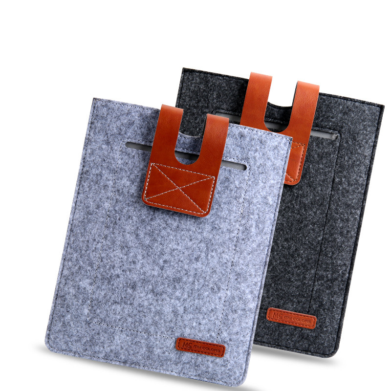 6 inch Tablet Wool Felt Sleeve Case for Kindle Paperwhite 2 3 Kindle 8 Case 2016 Voyage Pocketbook for kobo e-reader Pouch Bag wool felt cowboy hat stetson black 50cm