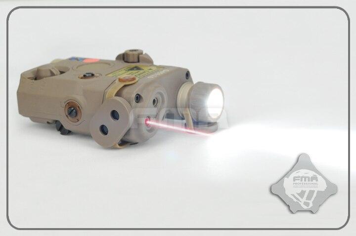 FMA PEQ LA5 обновленная версия LED белый свет + красный лазер с ИК-линзами DE/BK/FG аксессуары для шлема Бесплатная доставка