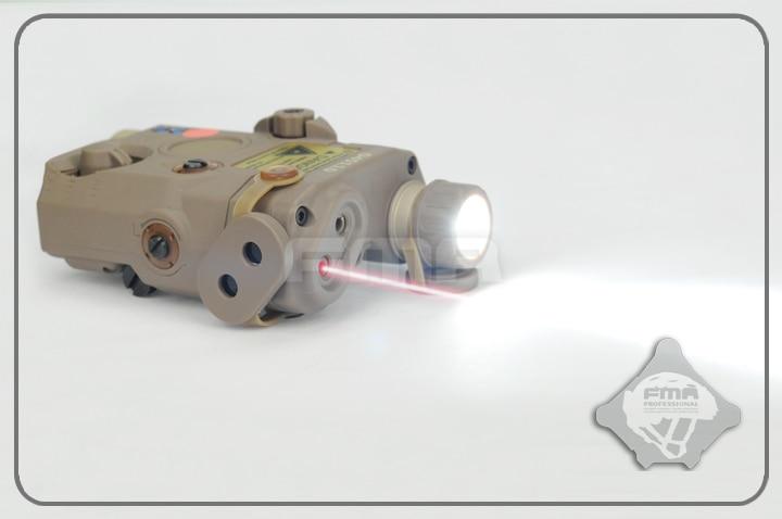 FMA PEQ LA5 Upgrade Version LED White light + Red laser with IR Lenses DE/BK/FG Helmet Accessories Free Shipping