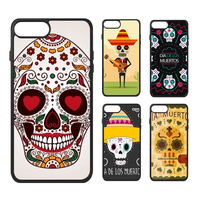 Mexico The Day Of The Dead Love Dia De Muertos Candy Color Skeleton Skull Phone Case