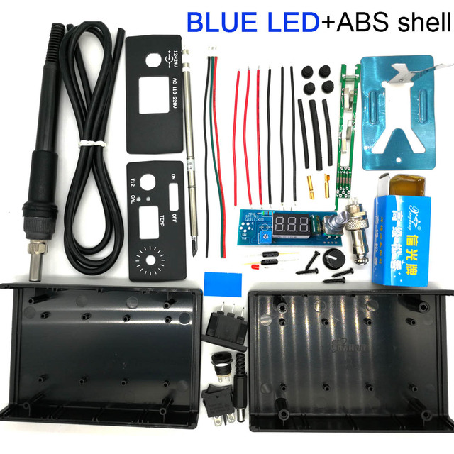 BLUE LED ABS shell
