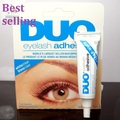 6pcs/Lot  DUO Professional Waterproof Clear adhesive brand Eyelash Glue 9g dries invisibly  individual packed eye lash glue