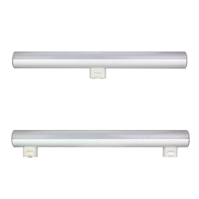 Linestra S14S S14D luz LED integrado tubo tira lâmpada espelho poderosa luz de parede 3 W 300mm 6 W 10 W 500mm 15 W 1000mm pode ser escurecido