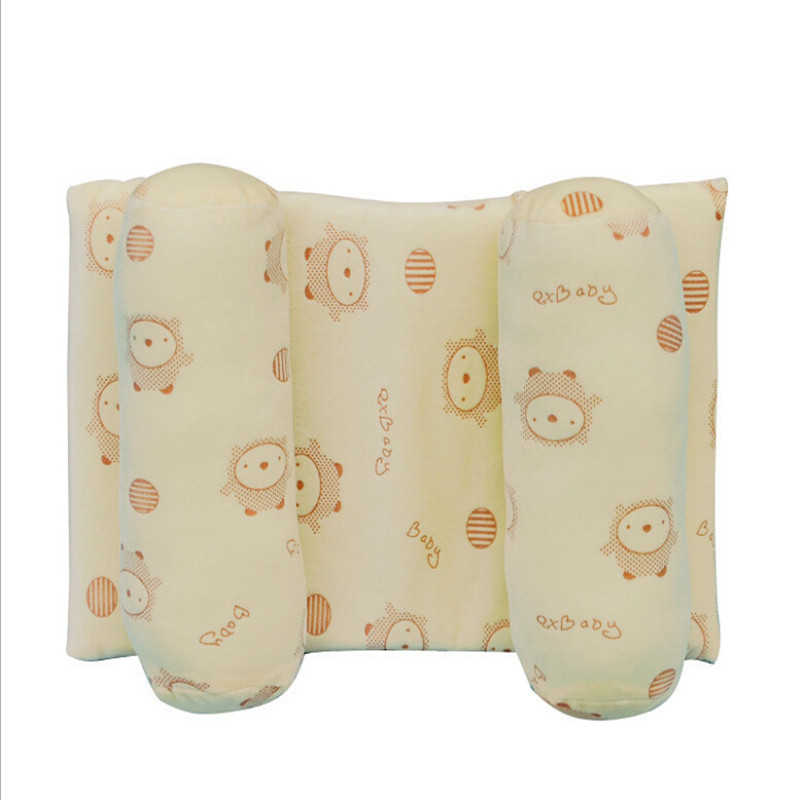 New Positioner Anti-rollover Baby Pillow Baby Cotton Protective Shaping Pillow Sleeping Pillow Head Support Cushion For Newborn