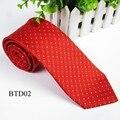 Модные Мужские Свадебные Галстук Dot Классический Жаккард Обычная Тощий Шелковый Галстук