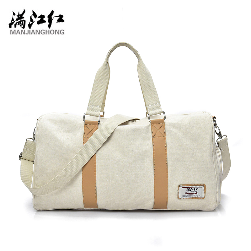 MANJIANGHONG Travel Bag Large Capacity Men Hand Luggage Travel Duffle Bags Canvas Bags Multifunctional Travel Bags 1402
