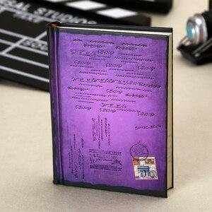 Image 3 - Винтажный блокнот в твердом переплете, бумажный личный дневник, дневник, планер, ретро подарки, канцелярские принадлежности, Офисная школа