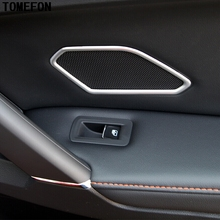 For Volkswagen VW Tiguan Second Generation 2017 2018 ABS Matte font b Interior b font Audio