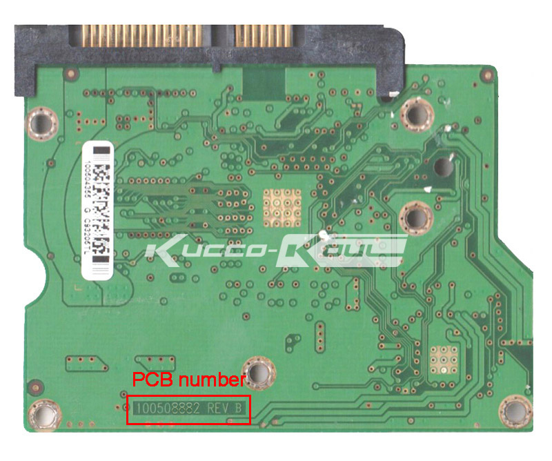 Hard Drive Parts PCB Logic Board Printed Circuit Board 100508882 For Seagate 3.5 SATA Hdd Data Recovery Hard Drive Repair