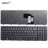 Gzeele novo teclado inglês para hp para pavilion G6-2000 G6Z-2000 g6-2254sr série eua portátil com quadro notebook 681800-002 preto