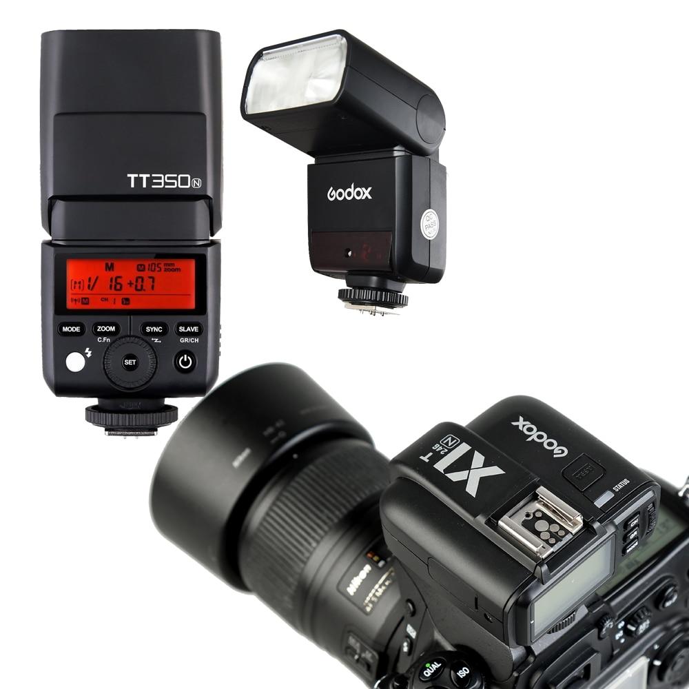 2x Godox Mini Speedlite TT350N 2.4G HSS 1 / 8000s TTL GN36 kaamera - Kaamera ja foto - Foto 6