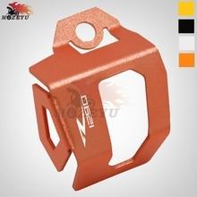 цена на For KTM 1290 super duke R Motorcycle CNC Rear Brake Fluid Reservoir Guard Cover Protect 1290 super duke r