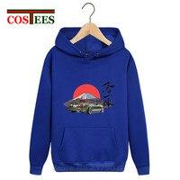 2019 Japan style Mazda Miata Mx5 hoodies men Jinba Ittai Mount Fuji edition sweatshirts hooded Heat transfer fleece pocket hoody