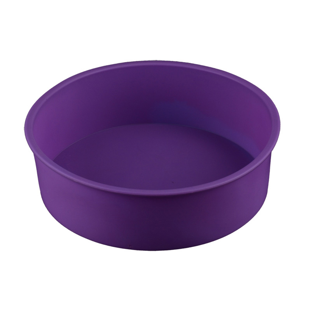 Round Shape Silicone Bread Mold Cake Pan Muffin Non Stick