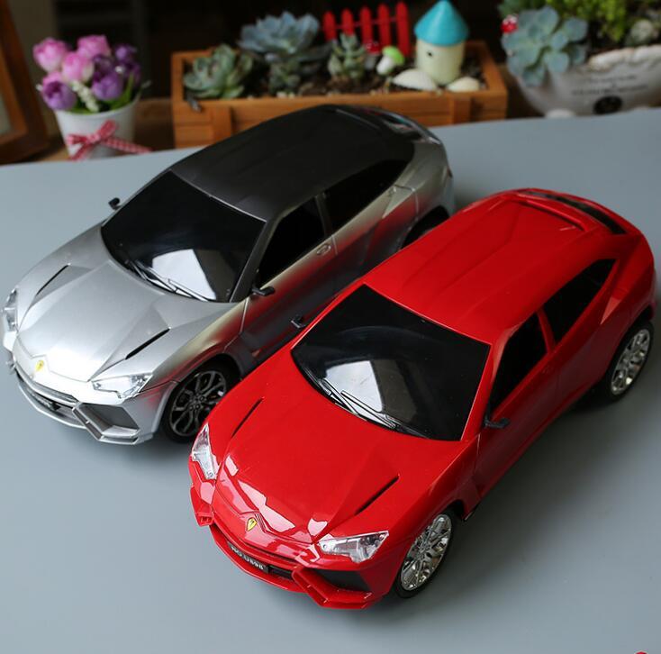 Горячие игрушки детей Радиоуправляемые игрушки четыре дистанционного управления автомобилем световой Электрический детей игрушка модель игрушки