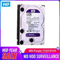 """Western Digital WD Purple HDD 1TB 2TB 3TB 4TB SATA 6.0Gb/s 3.5"""" Hard Drive Disk for cctv Camera AHD DVR IP NVR"""