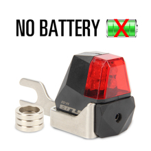 GUB M58 New Bicycle Dynamo Lights Set Bike Cycle Safety No Batteries Needed Rear Bicycle Lights For  disc brake Bikes