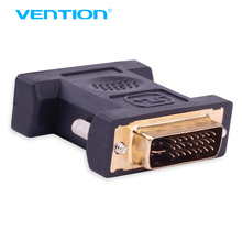 Vention VGA to DVI 24+5 Adapter Female to Male 1080P HD TV Converter for PC PS3 Projector TV Box