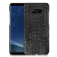 Super Luxury Genuine Crocodile Skin Leather Case For Samsung Galaxy S8 S8 Plus Natural Real Crocodile