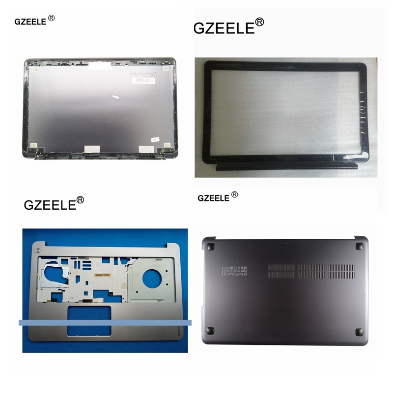 GZEELE NEW Laptop For Lenovo IdeaPad U510 LCD TOP Back shell/Front Bezel cover/Palmrest Upper/Bottom base Case Cover lower case gzeele for lenovo for ideapad y570 y575 bottom base cover case new orig d cover case d shell cover laptop bottom case with hdmi