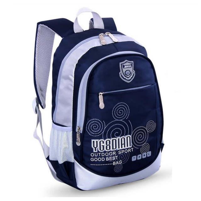 f91b044f8b3 placeholder kids small bag school bags for boys school backpack bookbag children  backpacks blue waterproof nylon book