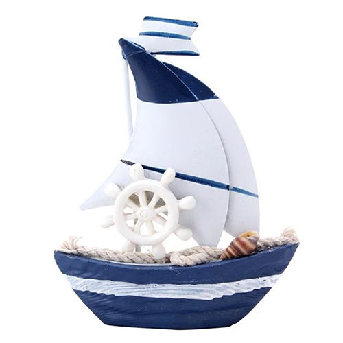 Table Dislpay Wooden Craft Nautical White Wheel Mini Sailing Boat Smt 83 In Figurines Miniatures From Home Garden On Aliexpress Alibaba Group