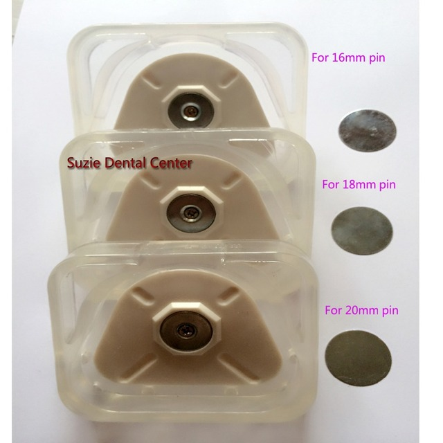 10 Sets New Type Dental Lab Transparent Silicon Base Rings Strong Magnetic Silicon Base Full Mouth On Dental Lab Stone Work