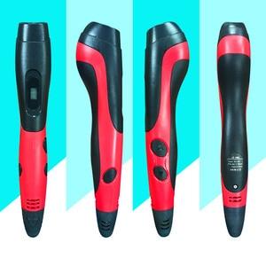 Image 5 - SMAFFOX 3D עט עם 12 צבעים 36 מטר PLA נימה הדפסת עט תמיכה ABS וpla ילדים Diy ציור עט עם LCD תצוגה