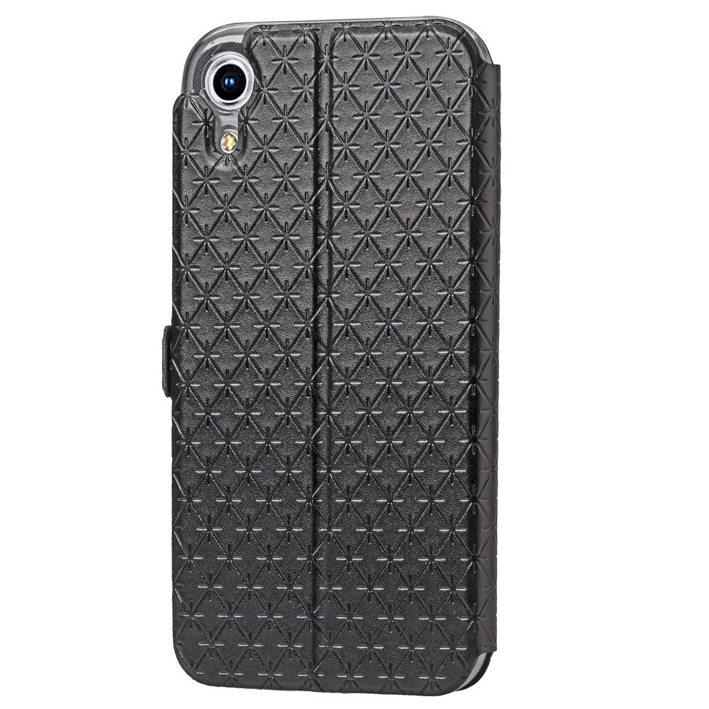 official photos 0c55e e4d3d US $4.74 5% OFF|iP XR Case for Apple iPhone XR Luxury Plaid Full Protection  Covers Flip Leather Cases Black Stand Cover for iPhoneXR-in Flip Cases ...