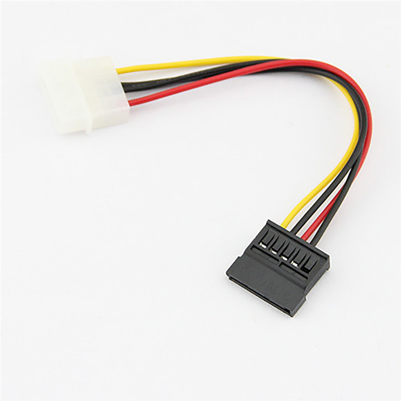 18cm USB2.0 IDE to Serial ATA SATA HDD Hard Drive Power Adapter Cable Cord 4 Pin Copper Cable 10pcs molex to sata power adaptor cable lead 4 pin ide male to 15 pin hdd serial ata converter cables