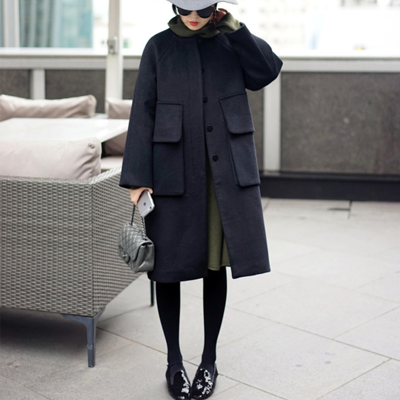 Aliexpress.com : Buy Black Fashion Women Coat Long sleeve High