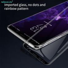 Kính Cường Lực Dành Cho Samsung Galaxy Samsung Galaxy S9 S9 + Note 9 S9 Plus Nillkin 3D DS + Max Che Phủ Toàn Bộ Màn Hình bảo Vệ Cho Samsung S9 Kính Phim