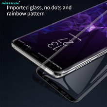 Tempered Glass For Samsung Galaxy S9 S9+ Note 9 S9 PLUS Nillkin 3D DS+MAX Full Cover Screen Protector For Samsung S9 Glass Film