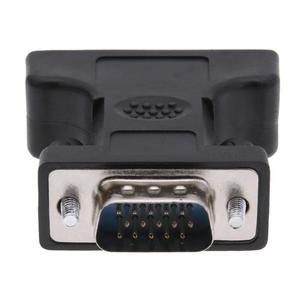 Image 5 - 24 + 5Pin DVI żeńskie do 15Pin VGA męski przedłużacz do przewodów złącze adaptera do komputer stancjonarny HDTV monitor crt projektor konwerter