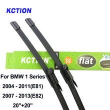 Windshield front wiper blade for BMW 1 Series E81 E82 E87 E88 F20 F21 windscreen rear wiper car accessories Fit Pinch Tab  arms