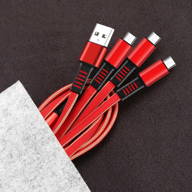 Cargador de coche USB Dual 3.1A 5 V con pantalla LED Universal para Samsung S8 Xiaomi para iPhone X 8 Plus cubierta de carga de cable 3 en 1